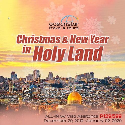 CHRISTMAS & NEWYEAR IN HOLYLAND