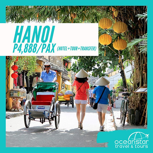 HANOI (3DAYS 2NIGHTS) – FREE AND EASY