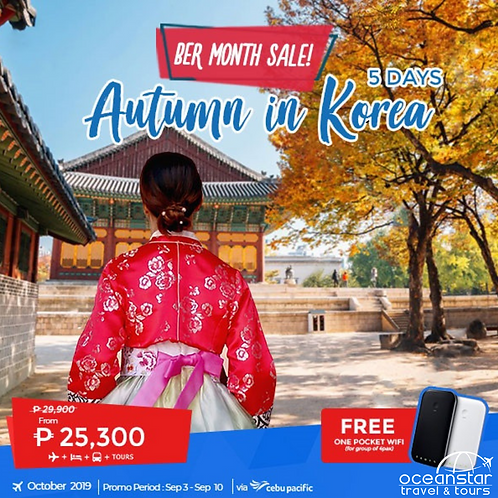 Autumn In Korea All-in Package