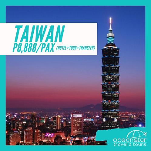 TAIPEI,TAIWAN - (3DAYS 2NIGHTS) – FREE AND EASY