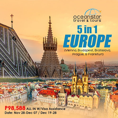 5 IN 1 EUROPE TOUR