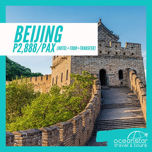 BEIJING - (3DAYS 2NIGHTS) – FREE AND EASY
