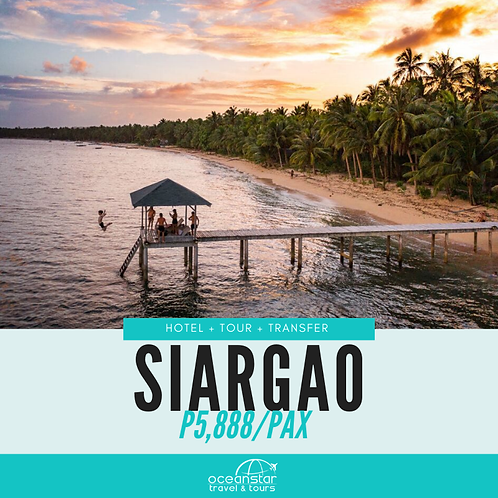 SIARGAO PACKAGE (3 DAYS 2 NIGHTS)