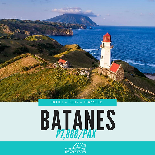 BATANES PACKAGE (3days/2nights)