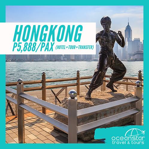 HONGKONG - (3DAYS 2NIGHTS) – FREE AND EASY