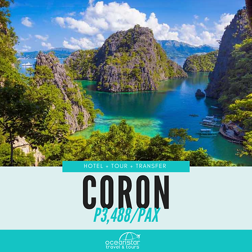 CORON PACKAGE (3days/2nights)