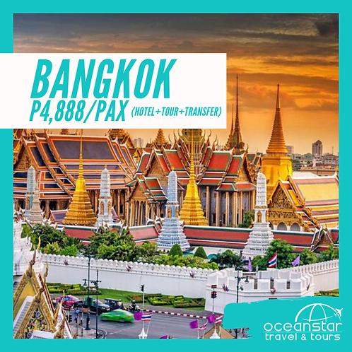 BANGKOK THAILAND - (3DAYS 2NIGHTS) – FREE AND EASY