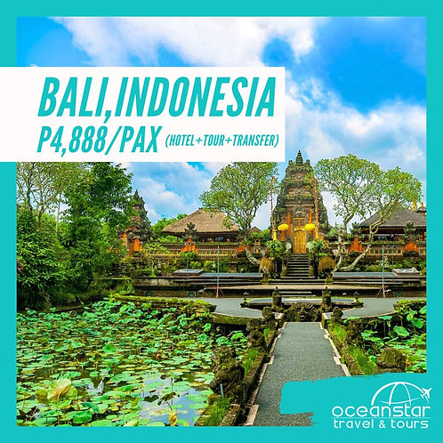 BALI - (3DAYS 2NIGHTS) – FREE AND EASY