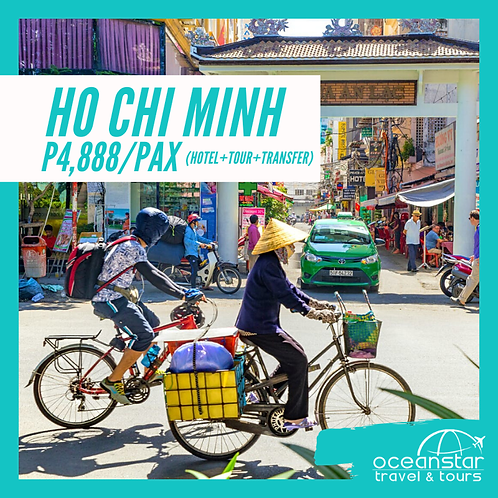 HO CHI MINH - (3DAYS 2NIGHTS) – FREE AND EASY