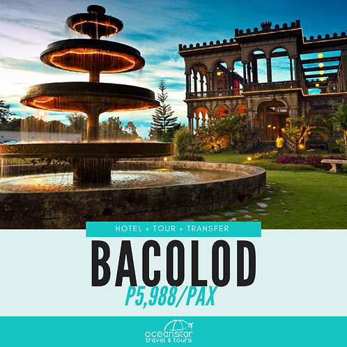 BACOLOD PACKAGE (3 DAYS 2 NIGHTS)