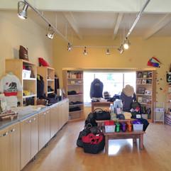 Sonoma Valley Visitor Center store design