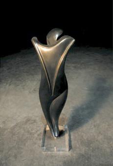 """La Florentine"" Patinated bronze 53cm"