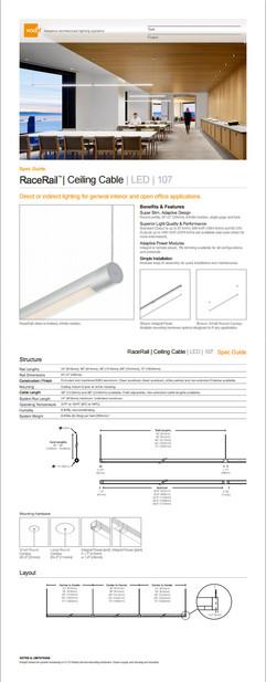 Vode spec sheet