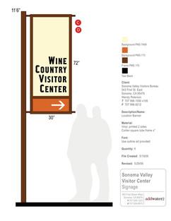 Sonoma Valley Visitors Bureau banner