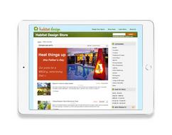 Habitat Design eCommerce web design