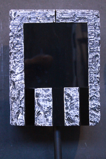 """""""Mavina"""" Traverse peinte Aluminium surfin ajusté & Altuglas collé face 1 30cmx23cmx13cm"""