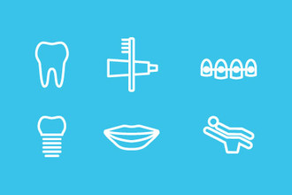 Miles Dental icons