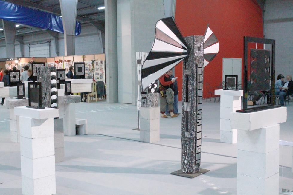 """Biennale des Arts Plastiques de Franche-Comté  """"Micropolis"""" Besançon 2015"""