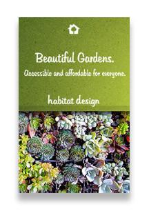Habitat Design Facebook ad