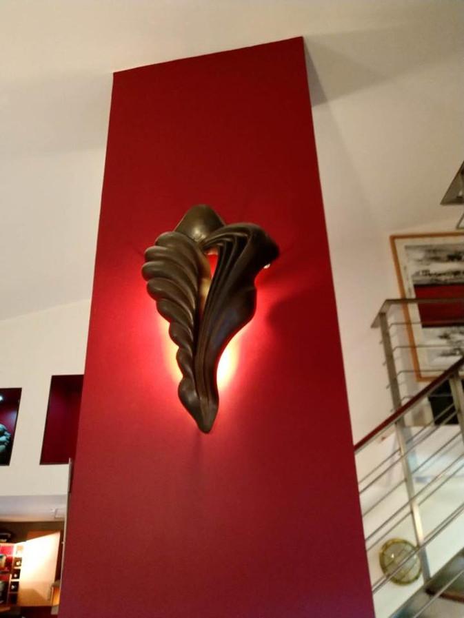 """""""La Dame du Sérail"""" Bronze patiné 82x57x26cm"""