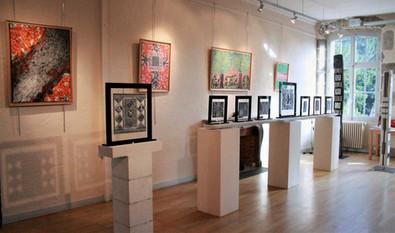 Peintures Exposition Galerie Oudet Arbois 2017
