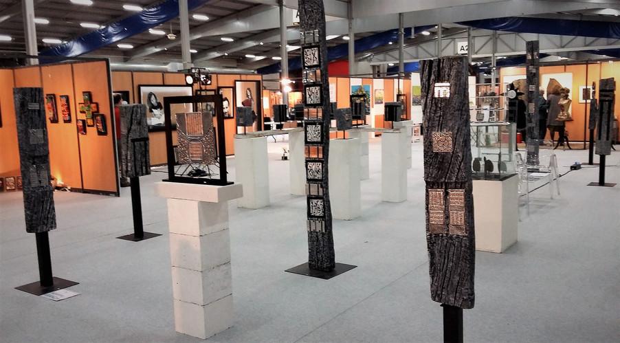 """Biennale des Arts Plastiques de Franche-Comté  """"Micropolis"""" Besançon 2017"""