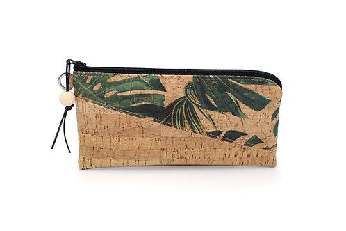Palm Cork and Natural Cork Mini Phone Wristlet