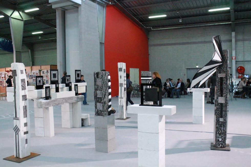 """Biennale of Visual Arts of Franche-Comté """"Micropolis"""" Besançon 2015"""