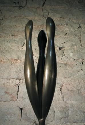 """""""Silhouettes"""" Bronze patiné"""