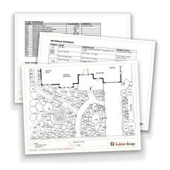 Habitat Design customer deliverables