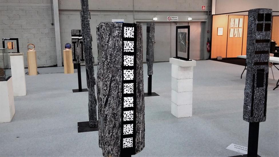 Poutres totem Biennale de F-C 2017