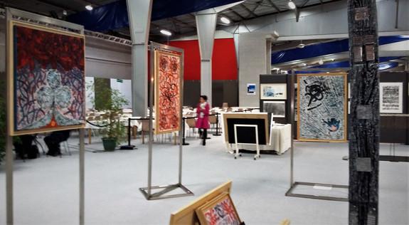 Peintures Exposition  Biennale de F-C 2017
