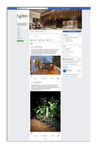 Lindsley Lighting facebook page