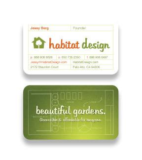 Habitat Design business card