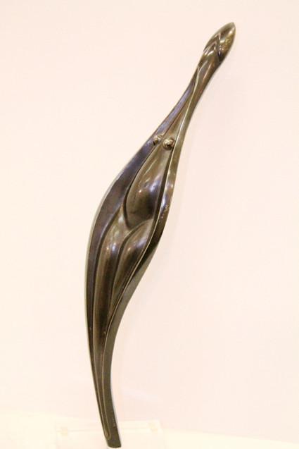 """Aïcha"" Patinated bronze 39cm"