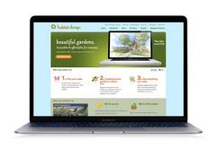 Habitat Design landing page design