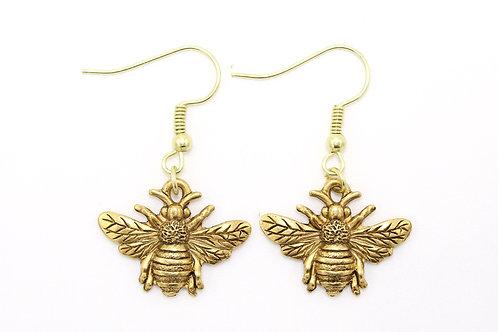 Sweet Honey Bee Earring