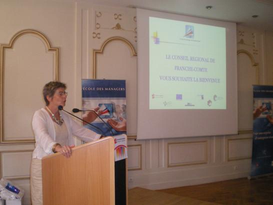 Management School Trophy Marie-Guite Dufay Franche-Comté region