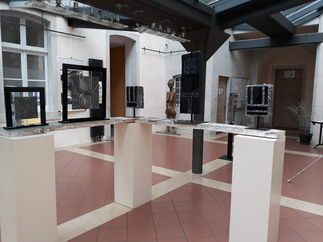 Personal exhibition City Hall Arbois 2018