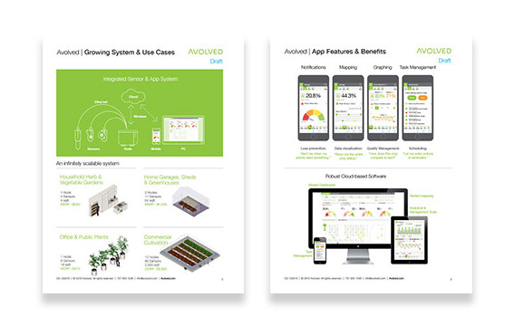 Avolved Sales Sheet & Specs