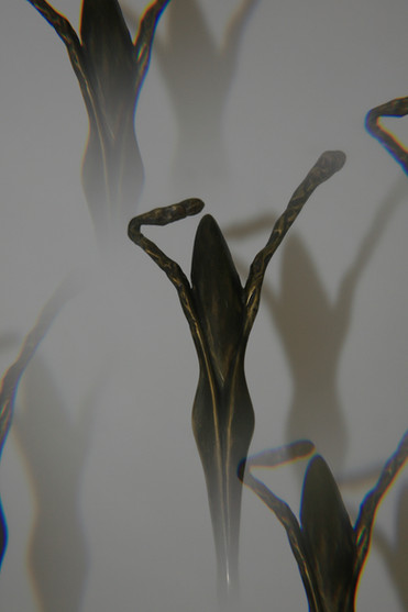 """""""The vegetal woman"""" Patinated bronze"""