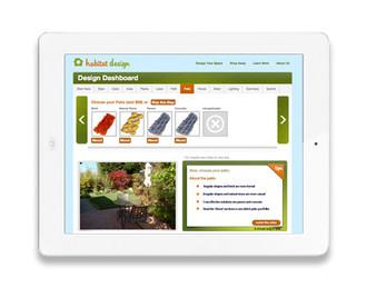 Habitat Design app interface