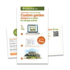 Habitat Design direct marketing flyer