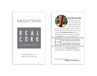 Kroutons hangtag