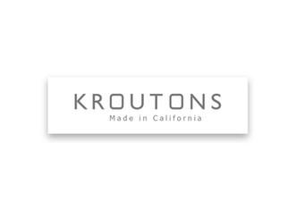 Kroutons bag label