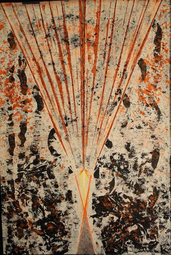 """Turbulences cosmiques"" 107x71"