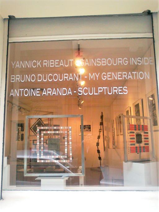Exposition Paris Galerie Talbot  Rue Guénégaud  Juin 2011