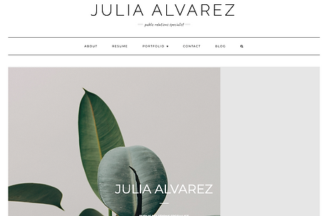 Julia Alvarez Website