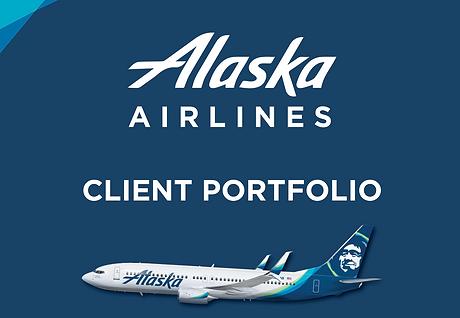 Alaska Airlines Client Portfolio