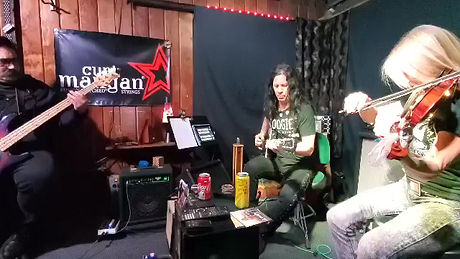 Improvisational jam for live TheoryThursday show podcast with host Mike Ruggirello and his band Fusebox